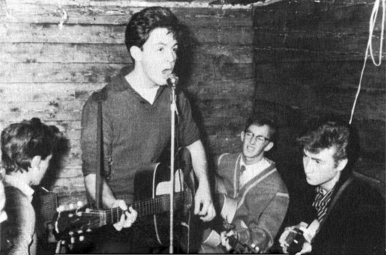 The Quarrymen at the Casbah